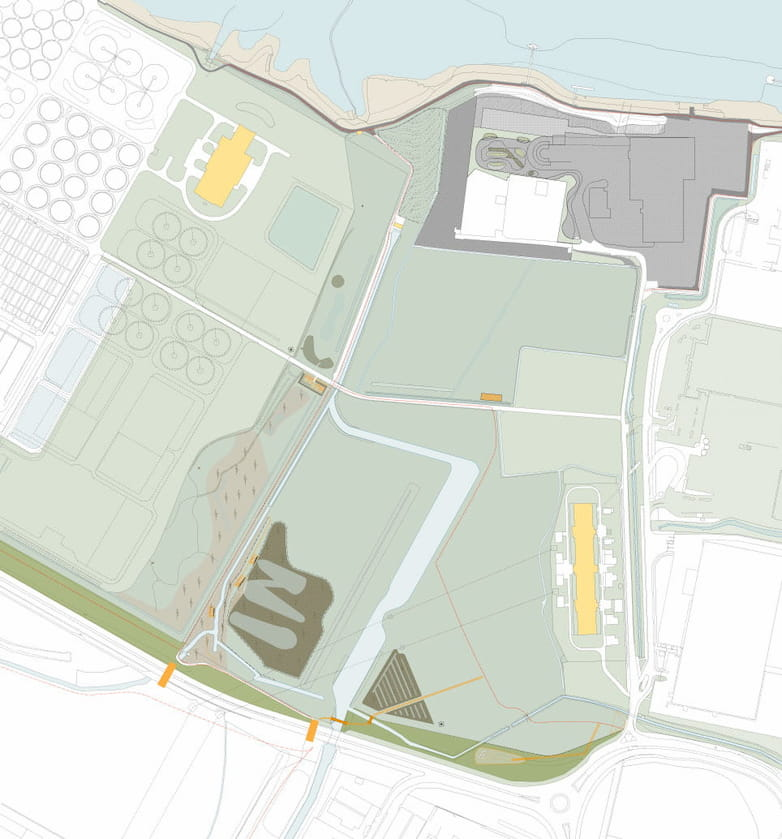 Belvedere masterplan drawing